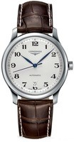 Longines Master Collection Automatic 38.5mm Silver Dial Brown Leather Men's Watch L2.628.4.78.5