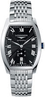Longines Evidenza Automatic Black Dial Stainless Steel Men's Watch L2.642.4.51.6