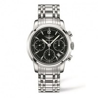 Longines Saint - Imier Collection  Black Dial Stainless Steel Men's Watch L2.752.4.52.6