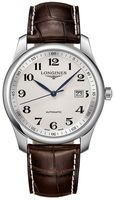 Longines Master Collection Automatic 40mm Silver Dial Brown Leather Men's Watch L2.793.4.78.3