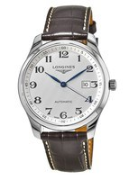 Longines Master Collection Automatic 42mm Silver Dial Brown Leather Men's Watch L2.893.4.78.3