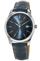Longines Master Collection Automatic 42mm Blue Dial Blue Leather Men's Watch L2.893.4.92.0