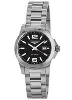 Longines Conquest Quartz Black Dial Women's Watch L3.376.4.58.6