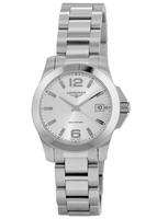 Longines Conquest Quartz Silver Dial Women's Watch L3.377.4.76.6