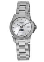 Longines Conquest  Diamond Mother of Pearl Dial Women's Watch L3.381.4.87.6