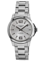 Longines Conquest Automatic 39MM Steel Unisex Watch L3.676.4.76.6
