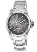 Longines Conquest V.H.P. Stainless Steel Black Carbon Fiber Dial Men's Watch L3.716.4.66.6