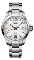 Longines Conquest V.H.P. Stainless Steel Silver Dial Men's Watch L3.716.4.76.6