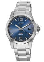 Longines Conquest V.H.P. Stainless Steel Blue Dial Men's Watch L3.716.4.96.6