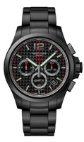 Longines Conquest V.H.P. Black Carbon Fiber Men's Watch L3.717.2.66.6