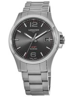 Longines Conquest V.H.P. Stainless Steel Black Dial Men's Watch L3.726.4.56.6
