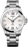 Longines Conquest V.H.P. Stainless Steel Silver Dial Men's Watch L3.726.4.76.6
