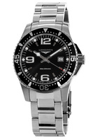 Longines HydroConquest Quartz Black Dial Men's Watch L3.730.4.56.6