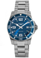 Longines HydroConquest Quartz 41mm Blue Dial Steel Men's Watch L3.740.4.96.6