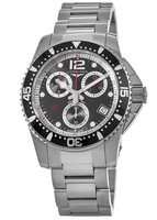 Longines HydroConquest Quartz Chronograph 41mm Black Dial Men's Watch L3.743.4.56.6
