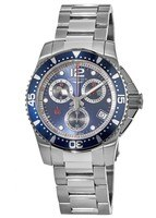 Longines HydroConquest Quartz Chronograph 41mm Blue Dial Men's Watch L3.743.4.96.6