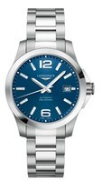 Longines Conquest  Blue Dial Stainless Steel Men's Watch L3.776.4.99.6