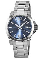 Longines Conquest Automatic Blue Dial Stainless Steel Men's Watch L3.778.4.96.6
