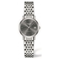 Longines Elegant Collection  Grey Dial Stainless Steel Women's Watch L4.309.4.72.6