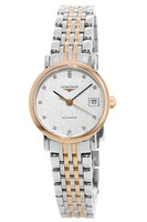Longines Elegant  Automatic Steel & Rose Gold Women's Watch L4.309.5.77.7