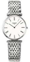Longines La Grande Classique Quartz White Dial Stainless Steel Women's Watch L4.512.4.11.6