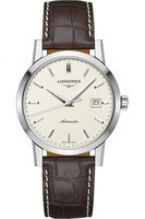 Longines Heritage 1832 Beige Dial Brown Leather Men's Watch L4.825.4.92.2