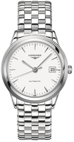 Longines Flagship Automatic White Dial Stainless Steel Men's Watch L4.874.4.12.6