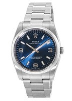 Rolex Oyster Perpetual No-Date  Blue Dial Men's Watch M114200-0014
