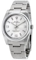 Rolex Oyster Perpetual No-Date  Silver Dial Men's Watch M114200-0019