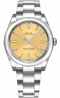 Rolex Oyster Perpetual No-Date  Champagne Dial Men's Watch M114200-0022