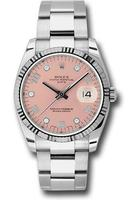 Rolex Oyster Perpetual Date  Pink Dial Men's Watch M115234-0009