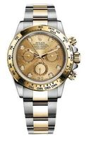 Rolex Daytona  Cosmograph Champagne Diamond Dial Men's Watch M116503-0006