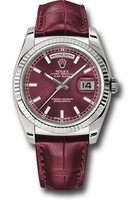 Rolex Day-Date  White Gold Cherry Dial Men's Watch M118139-0007