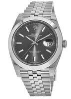 Rolex Datejust 41  Dark Rhodium Dial Men's Watch M126300-0008