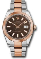 Rolex Datejust 41  Chocolate Dial Men's Watch M126301-0001