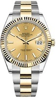 Rolex Datejust 41  Champagne Dial Men's Watch M126333-0009