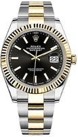 Rolex Datejust 41  Black Dial Men's Watch M126333-0013