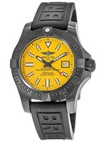 Breitling Avenger Avenger II Seawolf Cobra Yellow Dial Black Rubber Men's Watch M17331E2/I530-153S