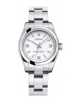 Rolex Oyster Perpetual No-Date  White Dial Women's Watch M176200-0011