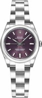Rolex Oyster Perpetual No-Date  Grape Dial Women's Watch M176200-0016