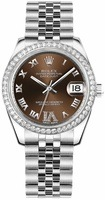Rolex Datejust 31  Mother of Pearl Diamond Dial Women's Watch M178384-0011