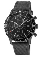 Breitling Chronoliner  Automatic Chronograph Blacksteel Rubber Men's Watch M2431013/BF02-100W