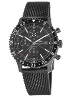 Breitling Chronoliner  Chronograph Blacksteel Rubber Strap Men's Watch M2431013/BF02-256S