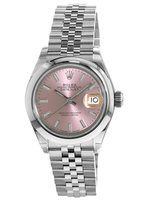 Rolex Lady-Datejust 28  Pink Dial Women's Watch M279160-0001