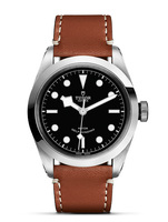 Tudor Heritage Black Bay Series 41 Brown Leather Strap Men's Watch M79540-0003