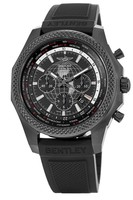 Breitling Bentley B05 Unitime Limited Edition Black Steel Royal Ebony Rubber Strap Men's Watch MB0521V4/BE46-220S
