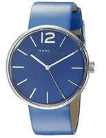 Marc Jacobs   Peggy Blue Dial Blue Leather Women's Watch MBM1364
