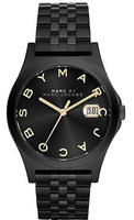 Marc Jacobs   Slim Black Ion-Plated Stainless Steel Women's Watch MBM3354