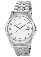 Marc Jacobs   Slim White Dial Stainless Steel Women's Watch MBM3391