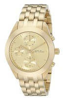 Marc By Marc Jacobs   Peeker Champagne Dial Gold-Tone Stainless Steel Women's Watch MBM3393